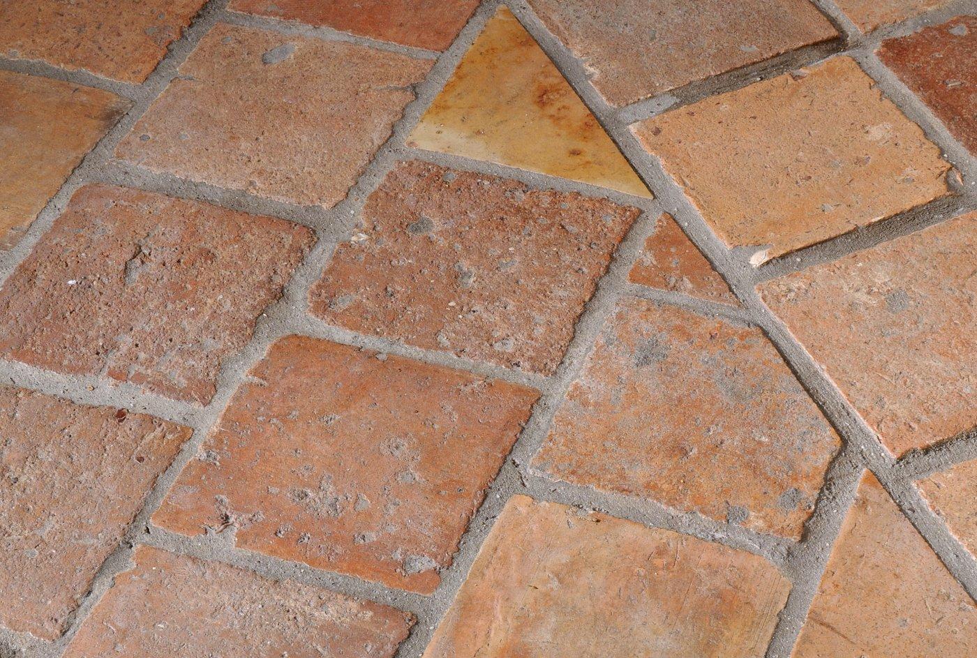 Alte Terrakottafliesen De Opkamer Antike Boden Und Kamine